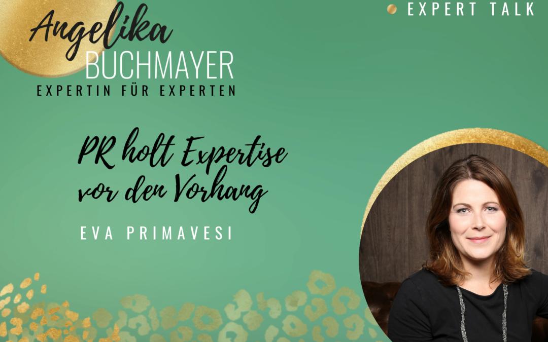 Eva Primavesi: PR holt Expertise vor den Vorhang