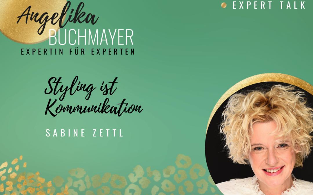 Sabine Zettl, Expertin für Styling, Image & Personal Branding