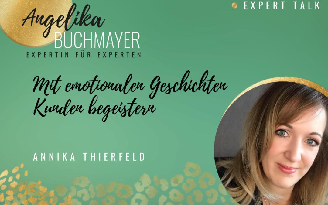 Annika Thierfeld: Mit emotionalen Geschichten Kunden begeistern