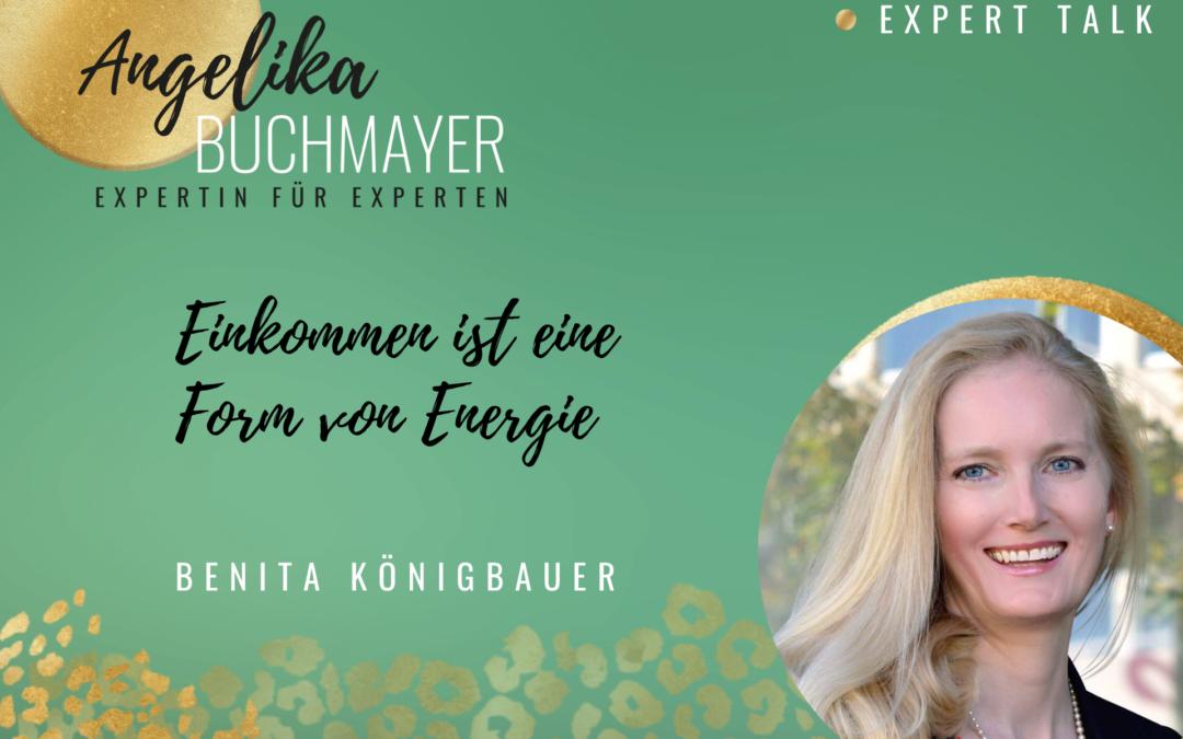 Benita Königbauer, Expertin für Finanzen und Unternehmermindset